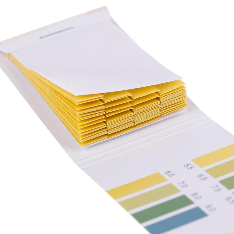 Тестер лакмусовый тест-бумаги PH Value 5,5-9,0, алкалиновая кислота, 80 полосок, измеритель PH, тестер для воды и мочи в аквариуме