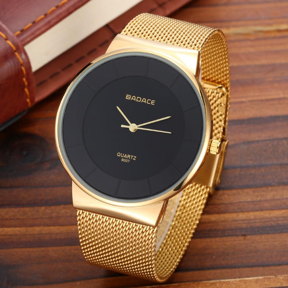 BADACE Мъжки часовници Топ марка - Мъжки часовници - Снимка 3