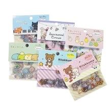 80pcs/lot Kawaii Cartoon Bear Cat Rabbit Stickers Kids DIY Diary Phone Computer Notebook Decoration Cute Scrapbooking