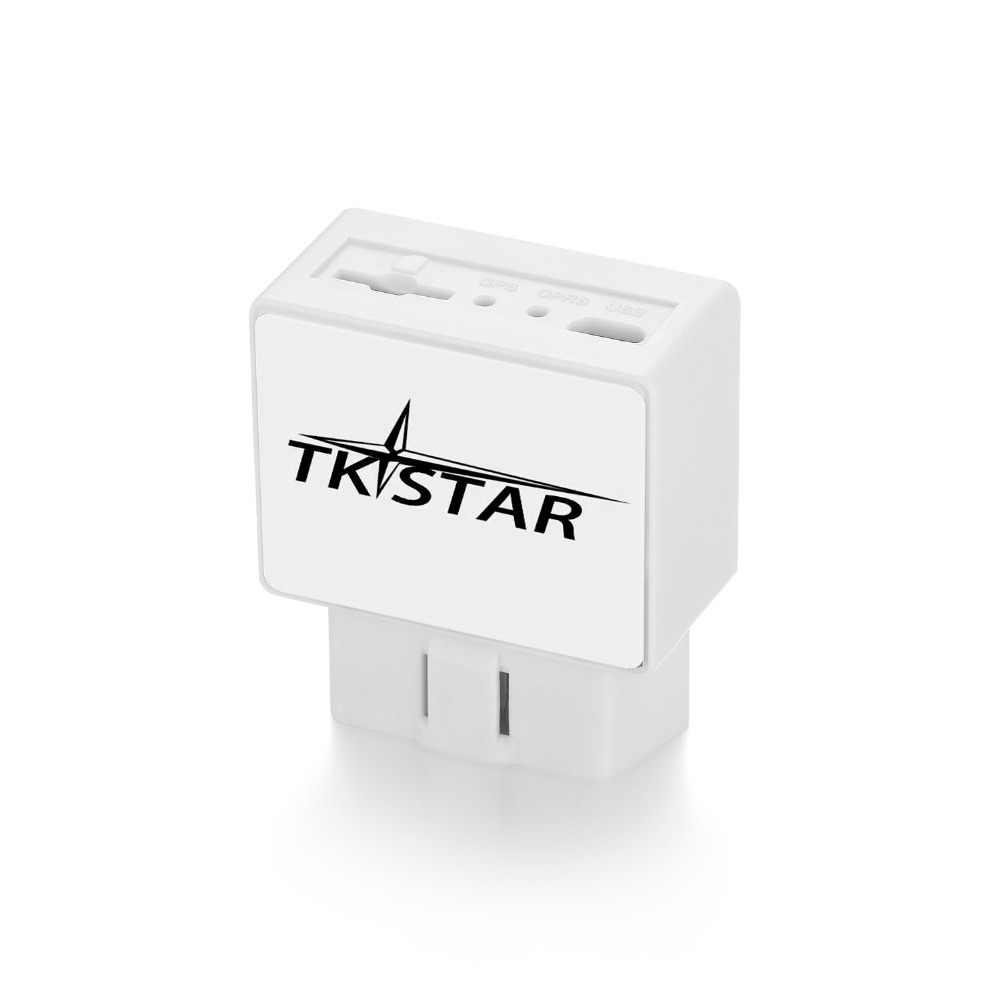 TK STAR TK816 OBD Автомобильный GPS, трекер, GPRS GSM система слежения в реальном времени, устройство слежения, локатор, высокоскоростная сигнализация, Бесплатная платформа
