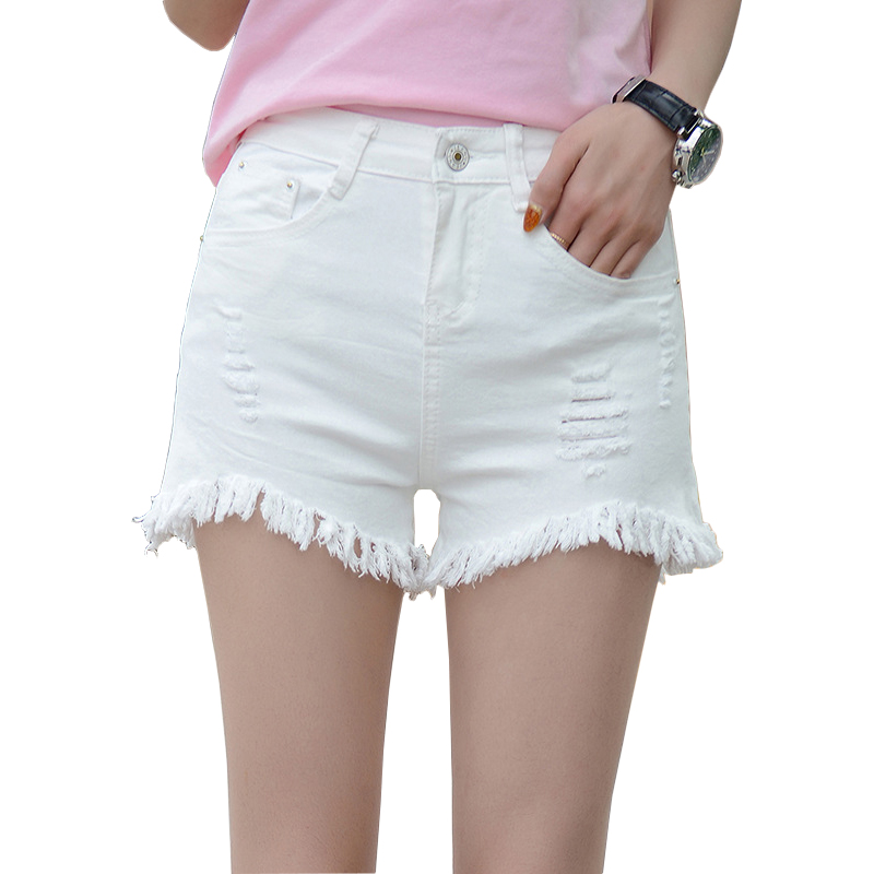 Compare Prices on White Shorts Women Jeans- Online Shopping/Buy ...