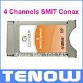 Dvb-s2 4 canais SMIT Conax CAM CI módulo profissional