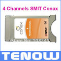Dvb-s2 4 canales SMIT Conax módulo CI CAM profesional