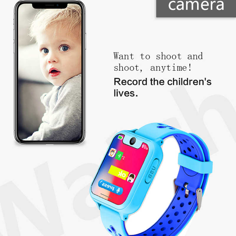 New S10 Smart Kids Watch With GPS Tracker Camera SOS Call back SIM Location Device for Baby Children Smart Watch IOS & Android
