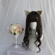 цена на Beautiful Long Curly women Hair Cosplay Wig Synthetic wig Lolita Cosplay Hair Unique Fashion Girl Lolita Wig Cute Hair Party