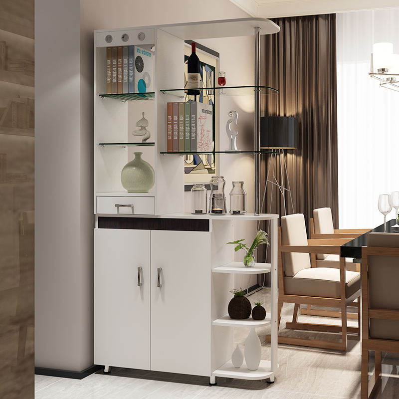 Long Europa Simple Fashion Hall Cabinet Entrance Cabinet Shoe Cabinet Wine Cabinet Partition