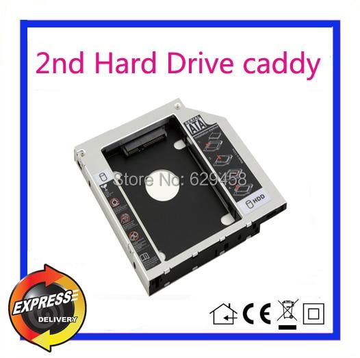 2nd SATA HDD Hard font b Disk b font Drive caddy for Toshiba Portege R835 Laptop