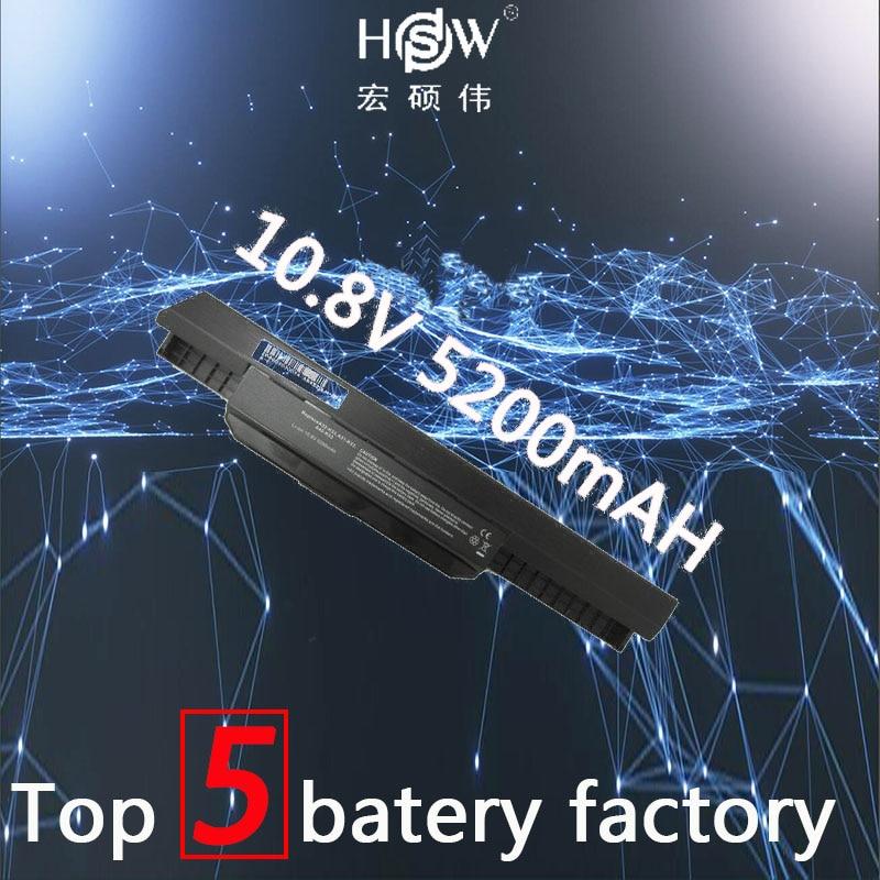 HSW k53u battery for Asus A32 k53 A42-K53 A31-K53 A41-K53 A43 A53 K43 K53 K53S X43 X44 X53 X54 X84 X53SV X53U X53B X54H bateria цена