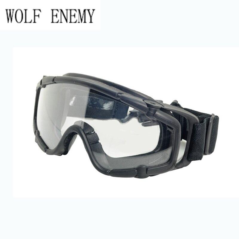 Paintball Airsoft Óculos anti nevoeiro Ballistic Óculos De Proteção Para  Capacete TB423 NEGROS em Caminhadas Eyewears de Sports   Entretenimento no  ... 02e1abf232