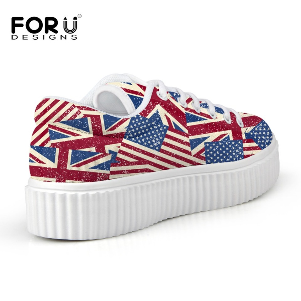 Fashion Women's Creepers Shoes Designer