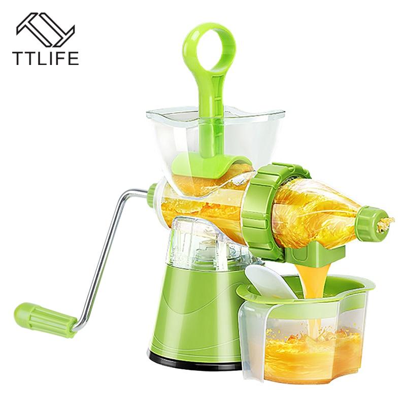 TTLIFE Multifunctional Vegetables Fruit Blend Extractor Machine Lemon Juicer Hand-cranked Juicer Hand Juicer Kitchen Tools