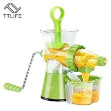 TTLIFE Multifunctional Vegetables Fruit Blend Extractor Machine Lemon Juicer Hand-cranked Hand Kitchen Tools