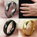 Men's Women's 316 Stainless Steel Scripture Ring Proposal Wedding Love Jewelry