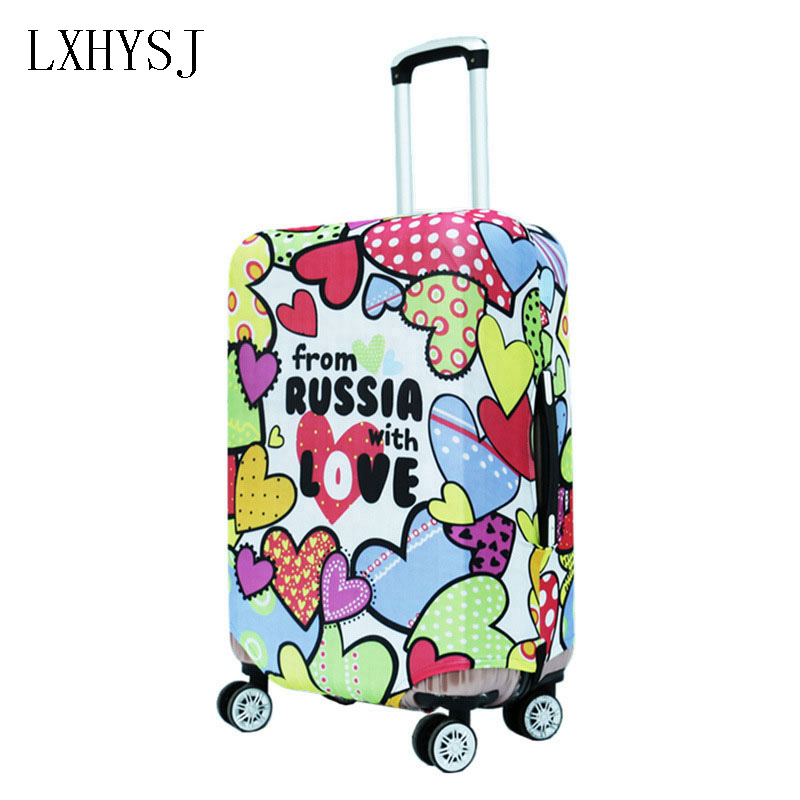 LXHYSJ Luggage Cover Elasticity Luggage Protective Covers Suitable For 18-30inch Suitcase Case Dust Cover Travel Accessories