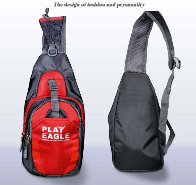PLAYEAGLE Chest Bag Waterproof Multipurpose outdoor sports Golf Shoulder Bag Running Outdoor Diagonal Package Chest Sports Bag