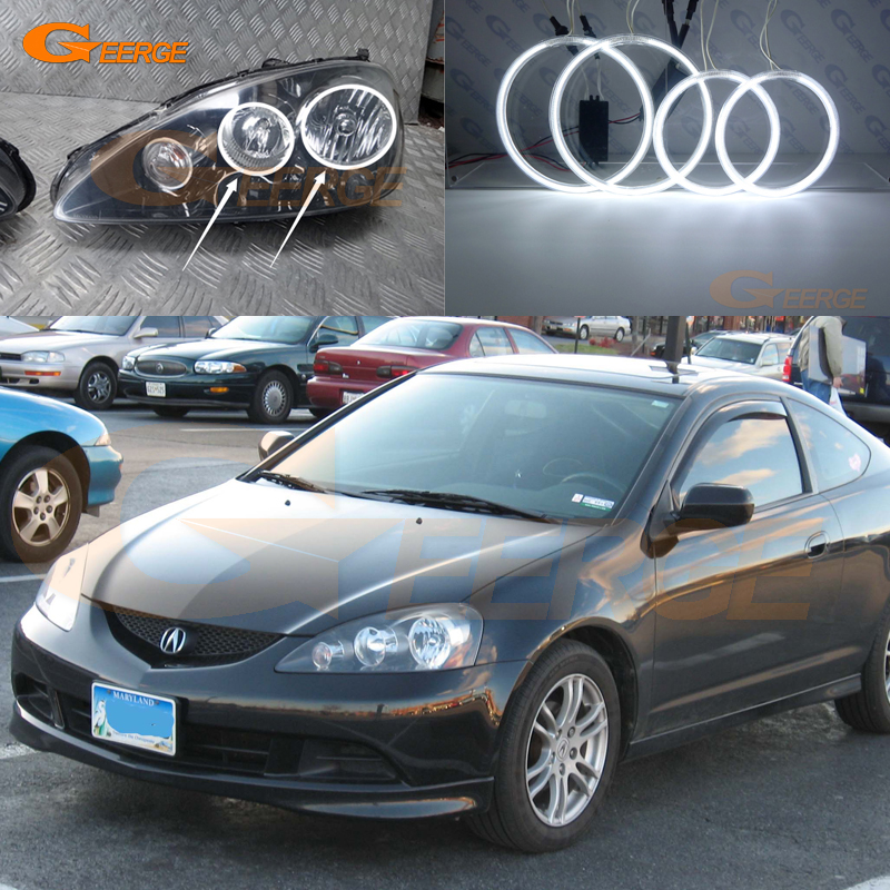 For Acura RSX Type R 2005 2006 Excellent Angel Eyes Ultra