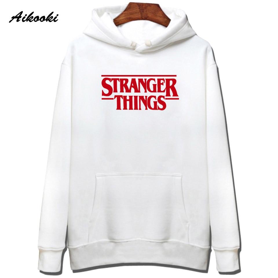 Hoodie Stranger Things Hoodies Sweatshirt women/men Casual Stranger Things Sweatshirts Women Hoodie Men's 9