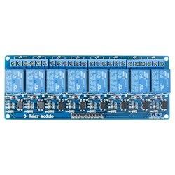 8 kanałowy Dc 5v moduł przekaźnikowy z transoptor dla Arduino Uno R3 Mega 2560 1280 Dsp Arm Pic Avr stm32 Raspberry Pi