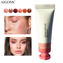 AIGOMC New Makeup Blush Liquid Woman's Fashion Pink Decorati