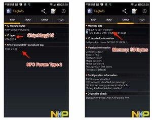 Image 2 - Ntag215 Miếng Dán NTAG215 Nhãn Miếng Dán NFC NTAG215 Thẻ Dành Cho Tagmo