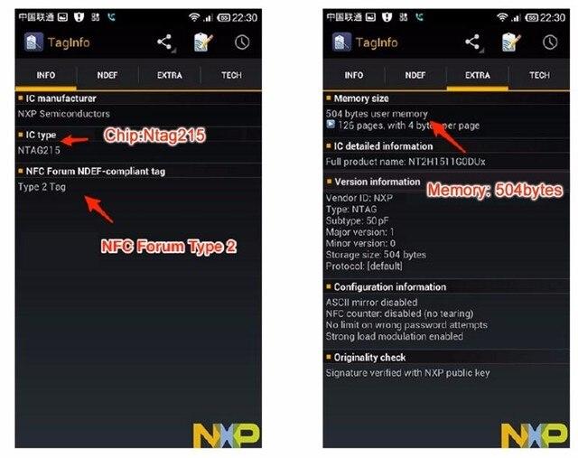 Ntag215 Sticker NTAG215 Label NFC Sticker NTAG215 Tag For Tagmo