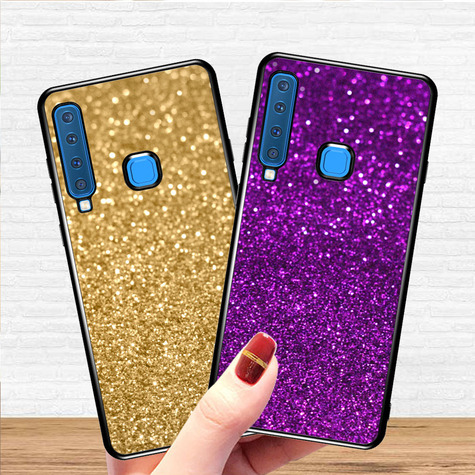 Case For Samsung Galaxy A9 2018 A5 A3 J7 J3 J5 2017 2016 S10 E S9 S8 J2 J4 J6 Plus A9 A8 A6 A7 J8 2018 Glitter Phone Cases