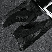 Knitted Fly weaving Men SOCK sneakers Breathable Mesh Walking footwear lightweight Comfortable male fashion casual shoes II-39