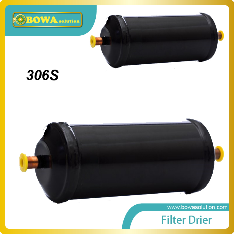 EM-306S Filter Dryer remove water from a refrigeration system  and improper handling of polyolester (POE) lubricants