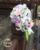 Букет Де Mariée Блан Роза Фиолетовый Свадебные Букеты Водопад Розе Искусственный Свадебные Цветы Свадебные Букеты Невесты Букеты