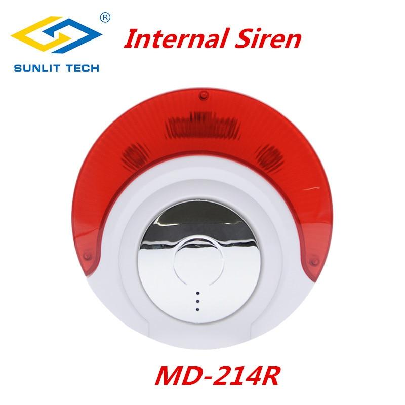 Light-Alarm Flash-Siren Wireless Strobe Big-Sound Indoor 433mhz/868mhz with 110db Focus