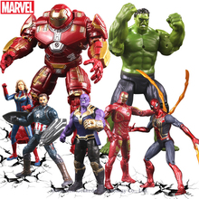 Hasbro Marvel Hulk Cartoon Q version of the super hero Iron Man fighters gloves hand office ornaments car accessories