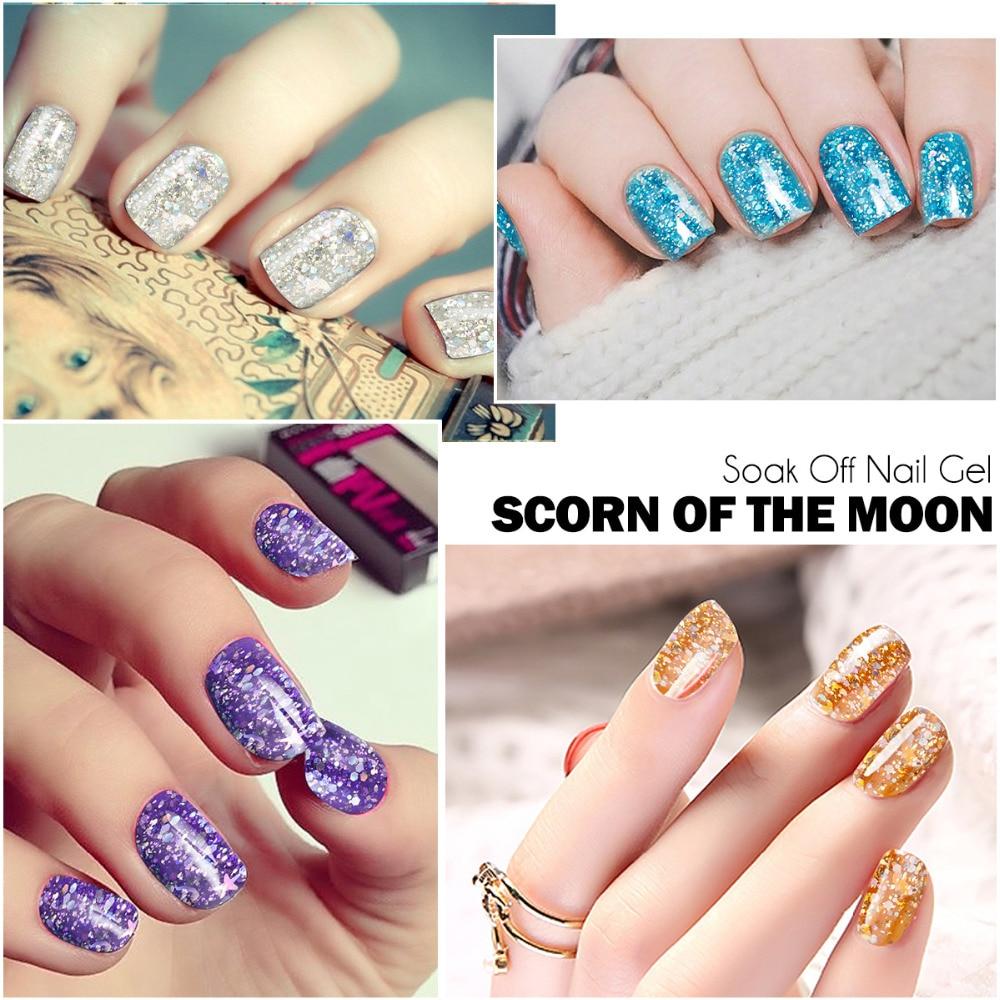 Aliexpress.com : Buy Azure Beauty Shining Diamond UV Gel Nail Polish ...