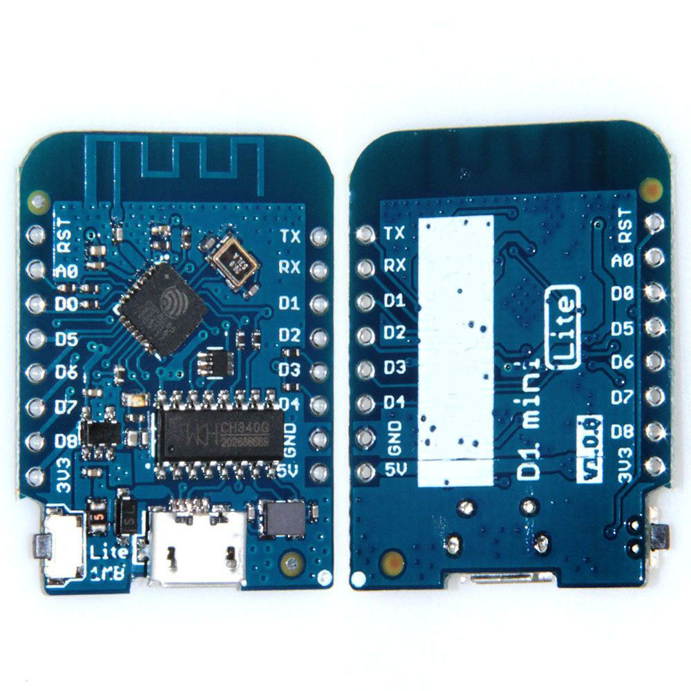 D1 mini Lite V1.0.0 - WIFI Internet of Things development board based ESP8285 1MB FLASH