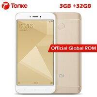 Original Xiaomi Redmi 4X 3GB RAM 32GB ROM 4100mAh Snapdragon 435 Octa Core Fingerprint ID FDD LTE 4G 5