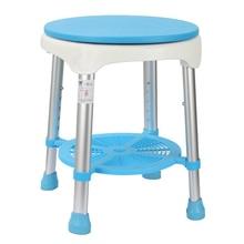 家庭用浴室のシャワースツール 360 度回転老人水着椅子持ち上げ安定した安全妊婦シャワースツール