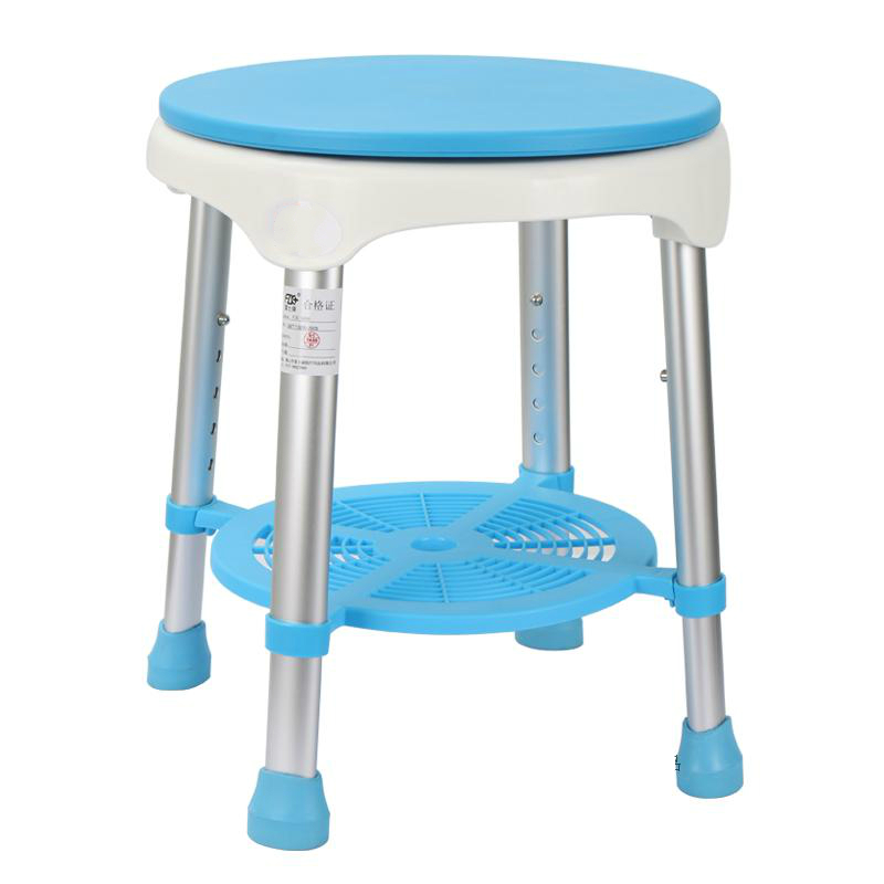 Household Bathroom Shower Stool 360 Degrees Rotation Old People Bathing Chair Lifted Stable Safe Pregnant Woman Shower Stool bathroom solid surface stone stool use for sauna rooms and shower enclosures bathing chair wd114