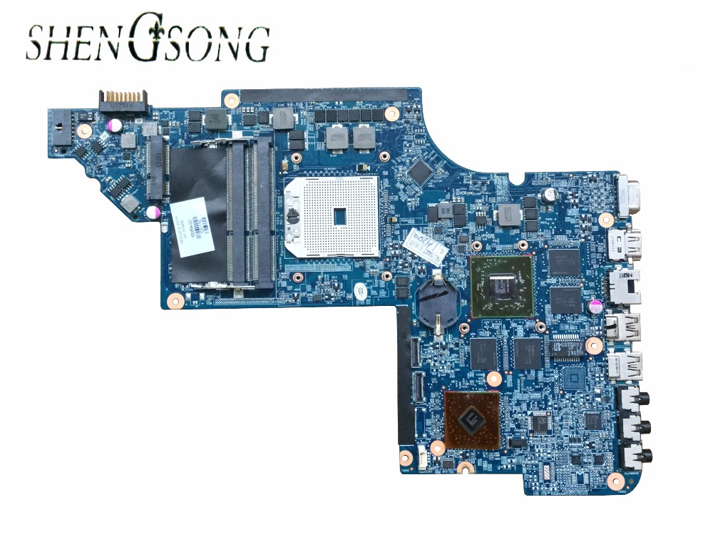 Free Shipping 650854-001 for HP Pavilion DV6 DV6T DV6-6000 motherboard HD6750M/1G.All functions 100% fully Tested !