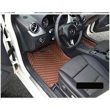 цена на lsrtw2017 leather car floor mat for mercedes benz B180 b200 b260 2011 2012 2013 2014 2015 2016 2017 2018  w246 accessories rug
