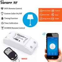 Sonoff 433Mhz Sonoff RF WiFi Wireless Smart Switch Home With RF Receiver Remote Control Smart Timing