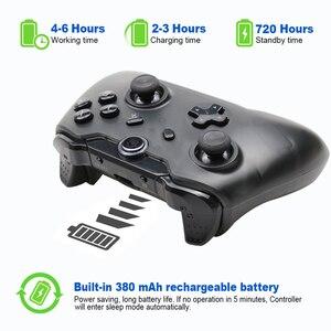 Image 5 - 2 個 TECTINTER Bluetooth ワイヤレス NS ゲームパッドジョイパッドリモート nintend ためのスイッチのための万都スイッチ
