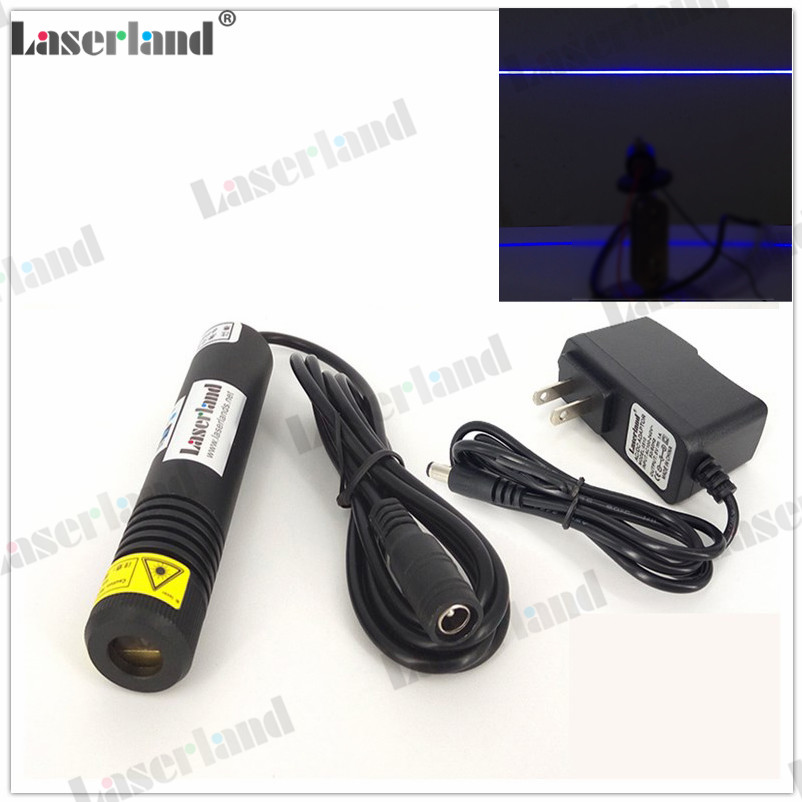 US $29 3 |450nm 80mW True Blue Line Laser Module Line Generator for Laser  Swamp Halloween Haunted House Laser Effects-in Stage Lighting Effect from