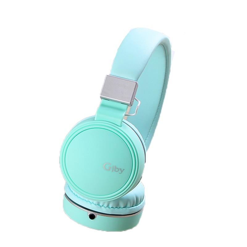 3.5mm Wired Stereo Over Ear Headband Hifi Headphone Audio Casque Mp3 player Laptop Music Headset Foldable Big Girls Headphones