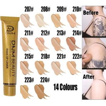 Pełna skóra korektor fundacja krem twarz profesjonalna skaza pokrywa ciemna plama tatuaż kontur makijaż płynny korektor kosmetyczny tanie i dobre opinie Wszystkich rodzajów skóry matte concealer SENSITIVE Kontrola oleju Wodoodporna wodoodporny Krem nawilżający Rozjaśnić