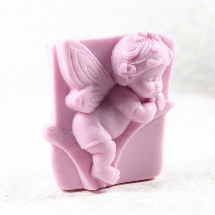 Angel Baby Mold S487 Craft Art Silicone 3D Soap Mold Craft Molds DIY Handmade Candle Molds