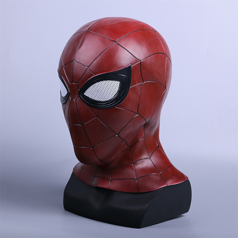 2018 Avengers 3 Infinity War Spiderman Mask Cosplay Iron Spiderman 3D Latex Mask (3)