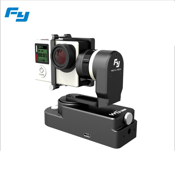 FeiYu Tech FY-WG Mini ( WG Mini) 2 Axis Wearable Gimbal Compatible with GoPro HERO4 / 3+ / 3 For Extreme Sport Feiyu Gimbal new feiyu tech fy wg 3 axis wearable gimbal lightweight for gopro hero 4 3 3 camera photograrhy for aircraft ilookplus