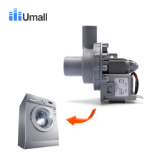 Universal full automatic electric washing machine drain motor pump 220v caliber 32/24mm roller washer machine part