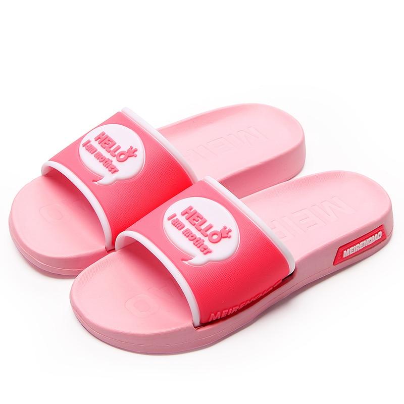 New 2017 Summer Casual Flat Slippers Women High Quality Fashion Beautiful Young Girl Shoes Lightweight Solid Home Women Slippers new high quality beautiful hair izumi
