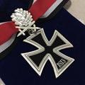 La Segunda Guerra mundial Soviético ww2 Insignias ww2 alemán Cruz Medallas con Cinta de Caballeros con Hojas de Roble de Plata en la Bolsa de Tela