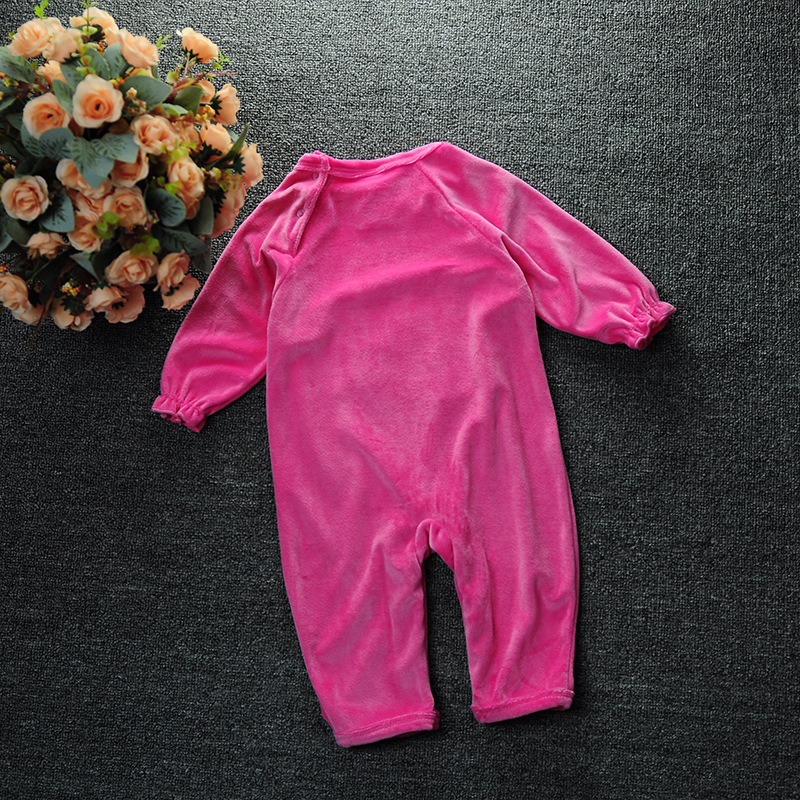 dc1ab22a4 Hello Kitty outfits baby romper rose red velvet overalls jumpsuit girl  newborn baby one pieces KT long climb clothes for girl
